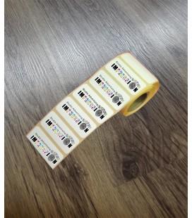 Etichette adesive piccolo formato